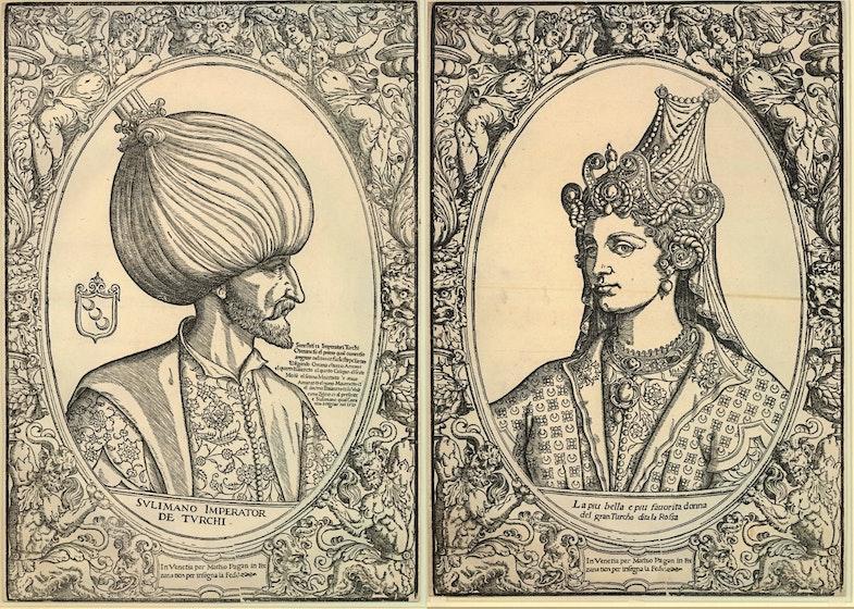 Sulimano Imperator de Turchi Turcho dita la Rossa