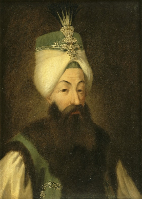 Portrait of Abdülhamid I of the Ottoman Empire