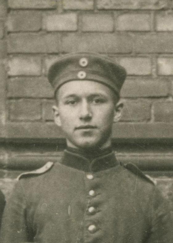 Ernst Junger 73rd Hanoverian Fusilier regiment, 1914