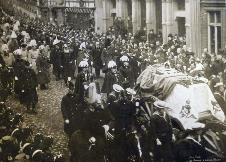 Funeral of Victoria the Good 2 Feb 1901