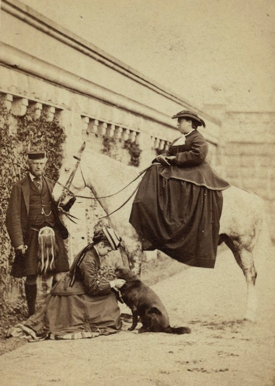 John Brown; Princess Louise Caroline Alberta, Duchess of Argyll; Queen Victoria