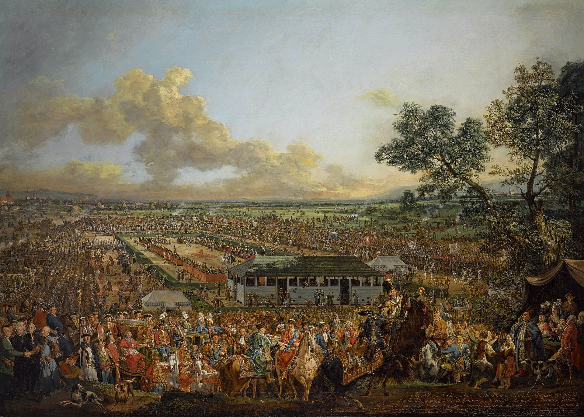 Election of Stanislas Augustus