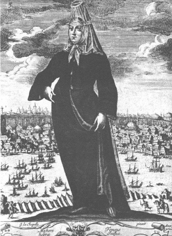Jewish_woman_in_Istanbul_-_17th_century